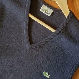 Lacoste Men's Wool Sweater Vest (Size 2)